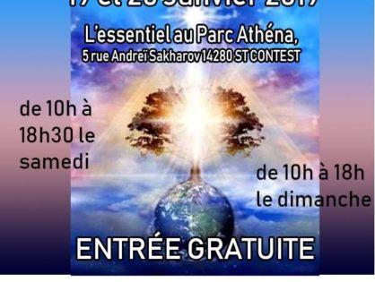 Exposante et Conférencière au salon Bien-Être, 19 et 20 janvier 2019 à L'essentiel à Saint Contest