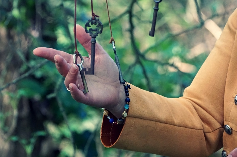 sélectionner la clef