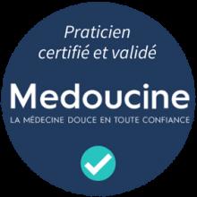 label Médoucine